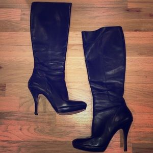 Via Spiga Storm high heeled boots
